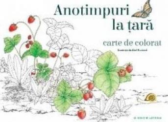 Anotimpuri La Tara  Carte De Colorat