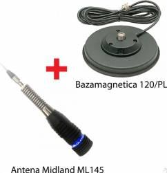 Antena CB Midland ML145 cu magnet 120