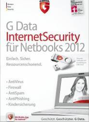 Antivirus G Data Internet Security pentru Netbooks 2012 1PC 1An Licenta Box