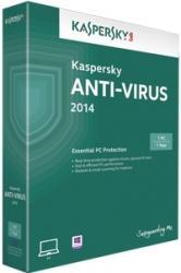 Kaspersky Anti-Virus 2014 1 An 1 PC Licenta Noua Electronica