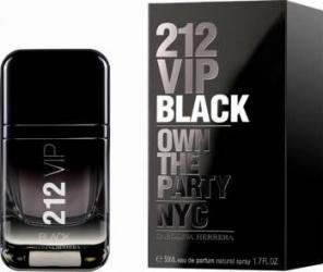 Apa de Parfum 212 VIP Black by Carolina Herrera Barbrati 50 ml Parfumuri de barbati
