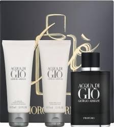 Apa de Parfum Acqua di Gio Profumo 40ml + Shower Gel 75ml + After Shave Balsam 75ml by Giorgio Armani Barbati Apa de par Seturi Cadou