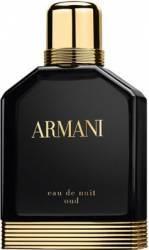 Apa de Parfum Eau de Nuit Oud by Giorgio Armani Barbati 50ml Parfumuri de barbati