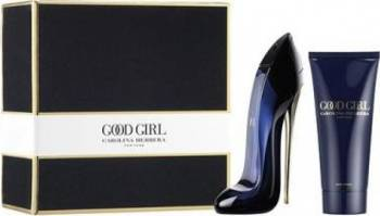 Apa de Parfum Good Girl 80ml + Lotiune De Corp 100ml by Carolina Herrera Parfumuri de dama