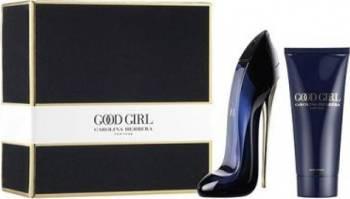 Apa de Parfum Good Girl 80ml + Lotiune De Corp 100ml by Carolina Herrera Parfumuri de dama