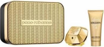 Apa de Parfum Lady Million 50 ml + Lotiune de Corp 75 ml by Paco Rabanne Femei Seturi Cadou