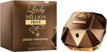 Apa De Parfum Lady Million Prive by Paco Rabanne 50ml Femei Parfumuri de dama