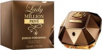 Apa De Parfum Lady Million Prive by Paco Rabanne 50ml Femei Parfumuri de dama