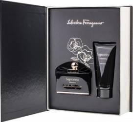 Apa de Parfum Signorina Misteriosa 100ml + Body Lotion 100ml by Salvatore Ferragamo Femei 100ml+100ml