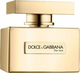 Apa de Parfum The One Gold Edition by Dolce and Gabbana Femei 50ml