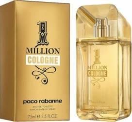 Apa de Toaleta 1 Million Cologne by Paco Rabanne Barbati 75ml Parfumuri de barbati