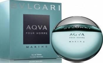 Apa de Toaleta Aqva Marine by Bvlgari Barbati 50ml Parfumuri de barbati