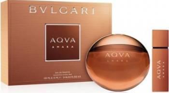 Apa de Toaleta Aqva Amara 100ml + 15ml by Bvlgari Barbati 100ml+15ml Parfumuri de barbati