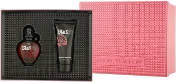 Apa de Toaleta Black XS 50 ml + Lotiune de Corp 100 ml by Paco Rabanne Femei Seturi Cadou