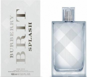 Apa de Toaleta Brit Splash by Burberry Barbati 100ml