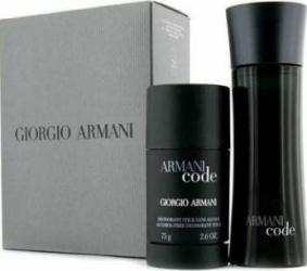 Apa de Toaleta Code 75ml + Stick 75ml by Giorgio Armani Barbati 75ml + 75ml