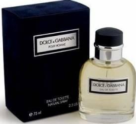 Apa de Toaleta Pour Homme by Dolce and Gabbana Barbati 75ml Parfumuri de barbati