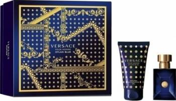 Apa de Toaleta Dylan Blue 30ml + Shower Gel 50ml by Versace Barbati 30 ml Seturi Cadou