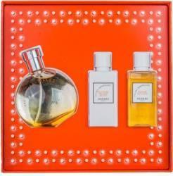 Apa de Toaleta Eau Des Merveilles 50ml + Body Lotion 40ml + Shower Gel 40ml by Hermes Femei 50ml+40ml+40ml