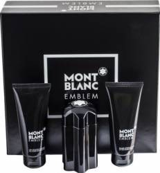 Apa de Toaleta Emblem 100ml + After Shave Balsam 100ml + Shower Gel 100ml by Mont Blanc Barbati 100ml+100ml+100ml Seturi Cadou