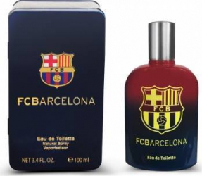 Apa de Toaleta FC Barcelona by EP Line Barbati 100ml + Metalic Box Parfumuri de barbati