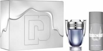 Apa de Toaleta Invictus 100ml + Deodorant Spray 150ml by Paco Rabanne Barbati Apa de toaleta 100ml + Deodorant spray 150 Seturi Cadou