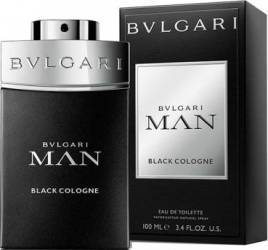 Apa de Toaleta Man Black Cologne by Bvlgari Barbati 100ml