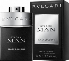 Apa de Toaleta Man Black Cologne by Bvlgari Barbati 60ml