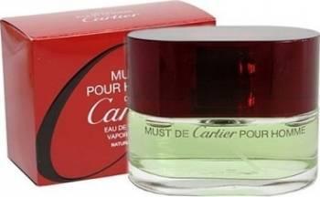 Apa De Toaleta Must De Cartier Pour Homme By Cartier Barbati 100ml