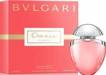 Apa de Toaleta Omnia Coral by Bvlgari Femei 25ml Parfumuri de dama