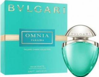 Apa de Toaleta Omnia Paraiba by Bvlgari Femei 25ml Parfumuri de dama
