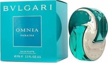 Apa de Toaleta Omnia Paraiba by Bvlgari Femei 65ml Parfumuri de dama