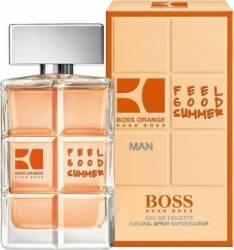 Apa de Toaleta Orange for Men Feel Good Summer 100ml by Hugo Boss Barbati 100 ml Parfumuri de barbati