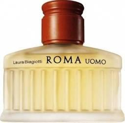Apa de Toaleta Roma Uomo by Laura Biagiotti Barbati 75ml Parfumuri de barbati