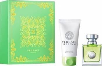 Apa de Toaleta Versense 30ml + Body Lotion 50ml by Versace Femei 30 ml Seturi Cadou
