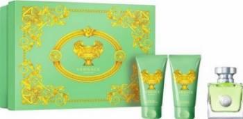 Apa de Toaleta Versense 50ml + Body Lotion 50ml + Shower Gel 50ml by Versace Femei 50ml+50ml+50ml