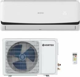 Aparat de aer conditionat cu inverter Vortex VAI-A0917FIW 9000BTU control Wi-Fi filtru cu ioni de argint clasa racire A+ Aparate de Aer Conditionat