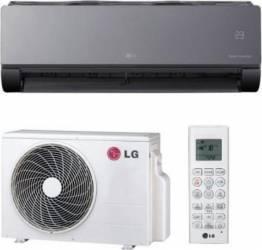Aparat de aer conditionat LG ArtCool Mirror AM12BP Inverter 12000BTU Clasa A++ Negru Aparate de Aer Conditionat