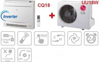 imagine Aparat de aer conditionat LG CQ18 + UU18W uu18w 220v + cq18
