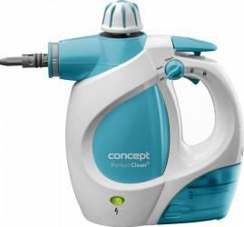 Aparat de curatat cu aburi Concept CP1010 AlbBleu Mopuri si aparate de curatat cu aburi