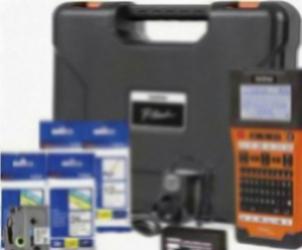 Aparat de Etichetat Brother P-Touch PTE550W + TZEFX231 + TZE241+ TZE251 + TZE651 Imprimante Termice