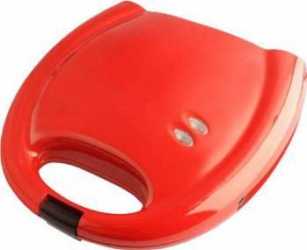 Aparat de facut waffle Ardes 750W Termostat fix Rosu Aparate Preparat Desert
