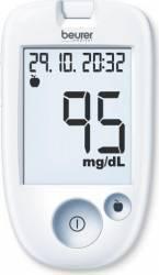 Aparat de masurare a glicemiei GL43 mg/dL 480 de memorii USB plug Ecran XXL Alb Glucometre