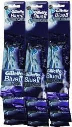 Aparat de ras Gillette Blue ll Excel Maxim card 12 buc Aparate de ras clasice