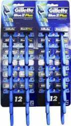 Aparat de ras Gillette Blue ll Plus Ultragrip card 24 buc Aparate de ras clasice