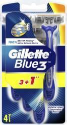 Aparat de ras Gillette Blue3 3+1 bucati GRATIS Aparate de ras clasice