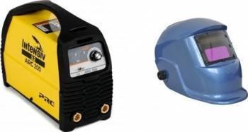 pret preturi Aparat de sudura tip invertor Intensiv ARC 200 VRD + Masca cristale BLUE