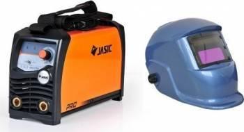 Aparat de sudura tip invertor Jasic ARC 200  + Masca cristale BLUE
