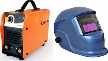 Aparat de sudura tip invertor Jasic ARC160 DYI + Masca cristale BLUE