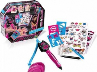 Aparat de Tatuaje Intek Monster High Jucarii Interactive